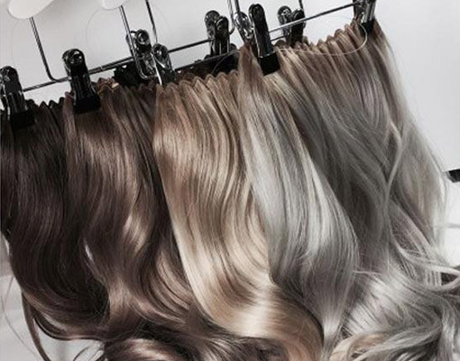 Hairextensions: Clip-in