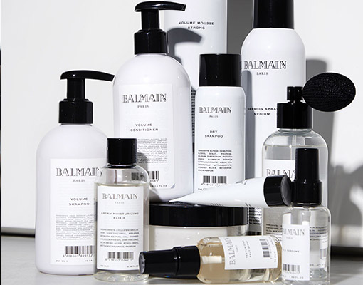 Hairextensions producten van Balmain haircare